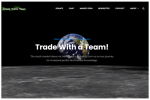 stock trading league banner